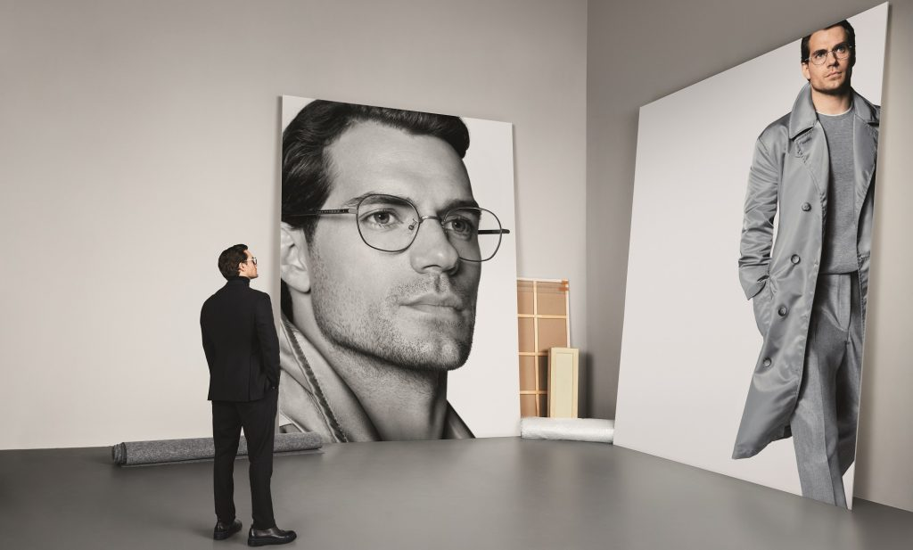Boss Eyewear Renews Partnership With Henry Cavill