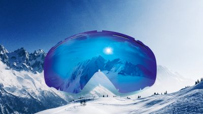 Essilor's Sun Lenses For Ski Goggles
