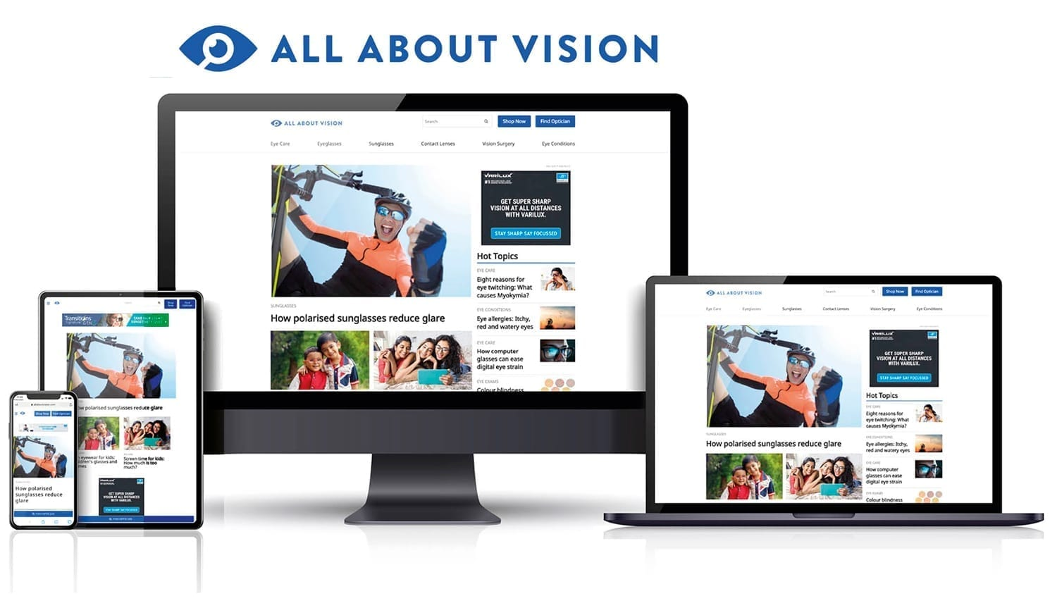 All About Vision is now also All About Vision India