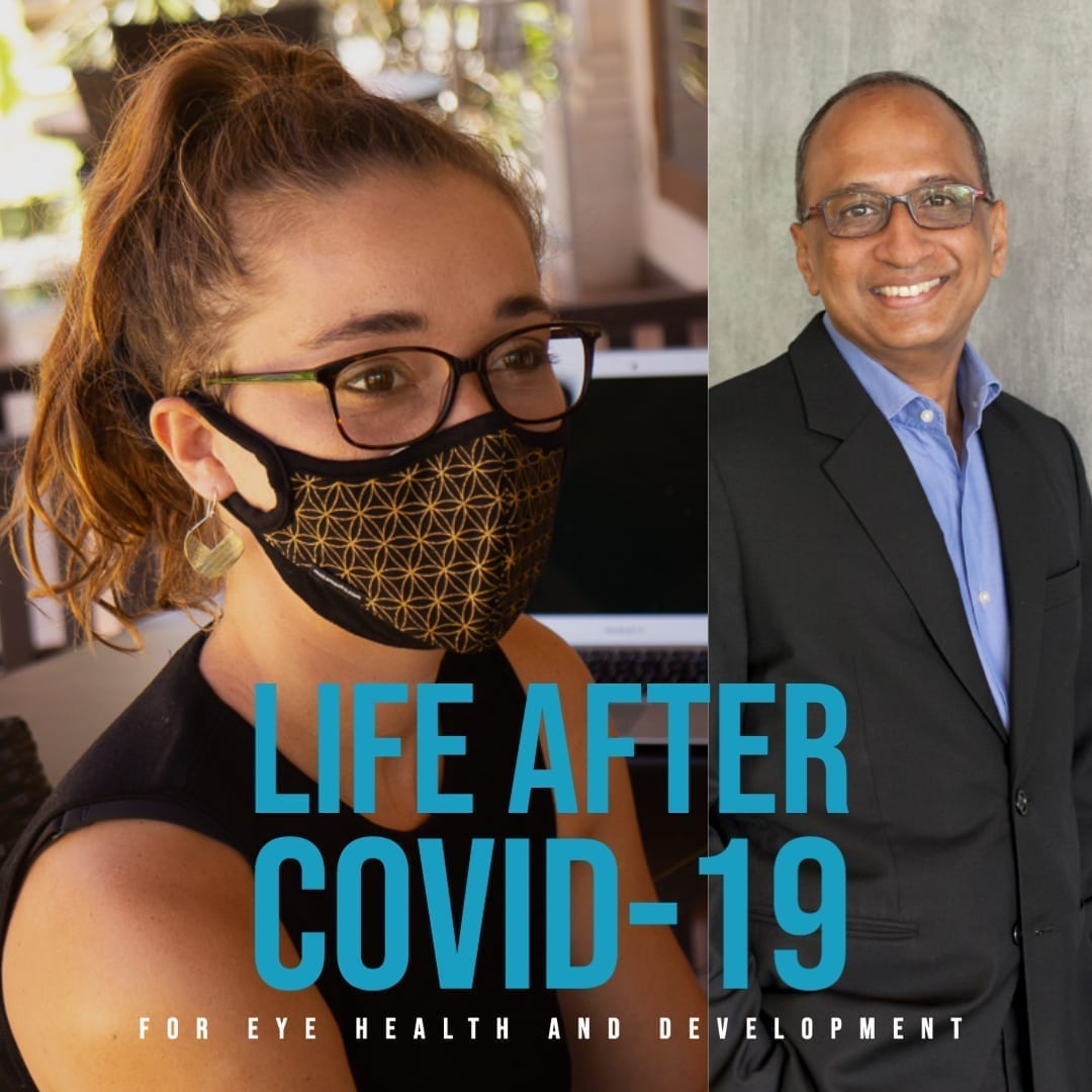 Life after COVID-19 for eye health and development