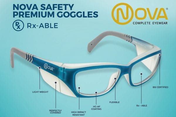 Nova Eyewear Safety Range