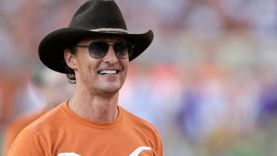 Matthew McConaughey Wears Blackfin Sunglasses