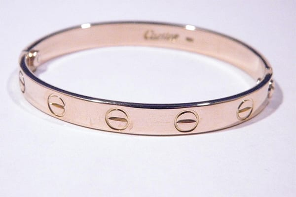 18K Gold LOVE Bracelet by CARTIER