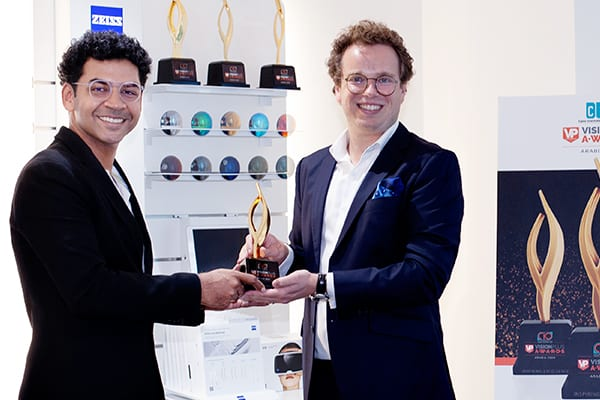 Zeiss Wins Award For Most Popular Lens Addition (Coating/Value Addition) at CIO VP AWARDS 2020