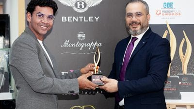Bentley Wins Award For Best New Spectacle Frame (Luxury) at CIO VPAWARDS 2020