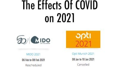 MIDO 2021 Postponed, Opti 2021 Cancelled