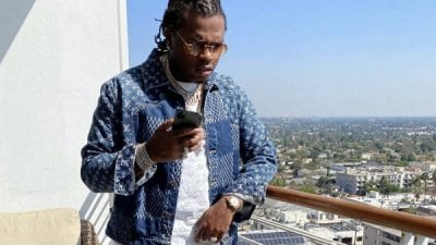 Gunna of 'Drip too Hard' wears Cartier Marbella