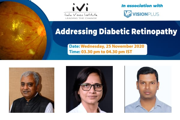 'Addressing Diabetic Retinopathy'-Panel Discussion