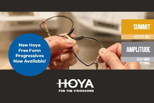 Hoya Launches Simplified Line-Up of Freeform PAL Designs for ECPs