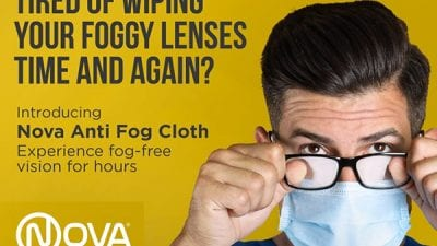 Nova Anti-Fog Cloth For Clear Vision